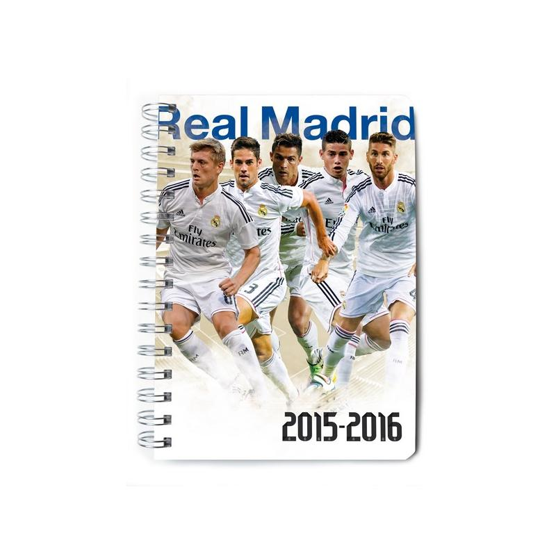 agenda escolar 2015 2016 real madrid