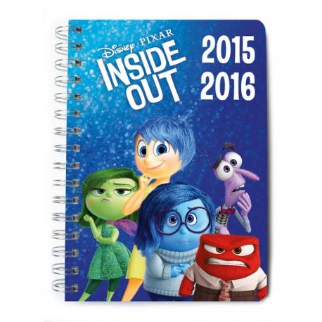 agenda escolar disney inside out